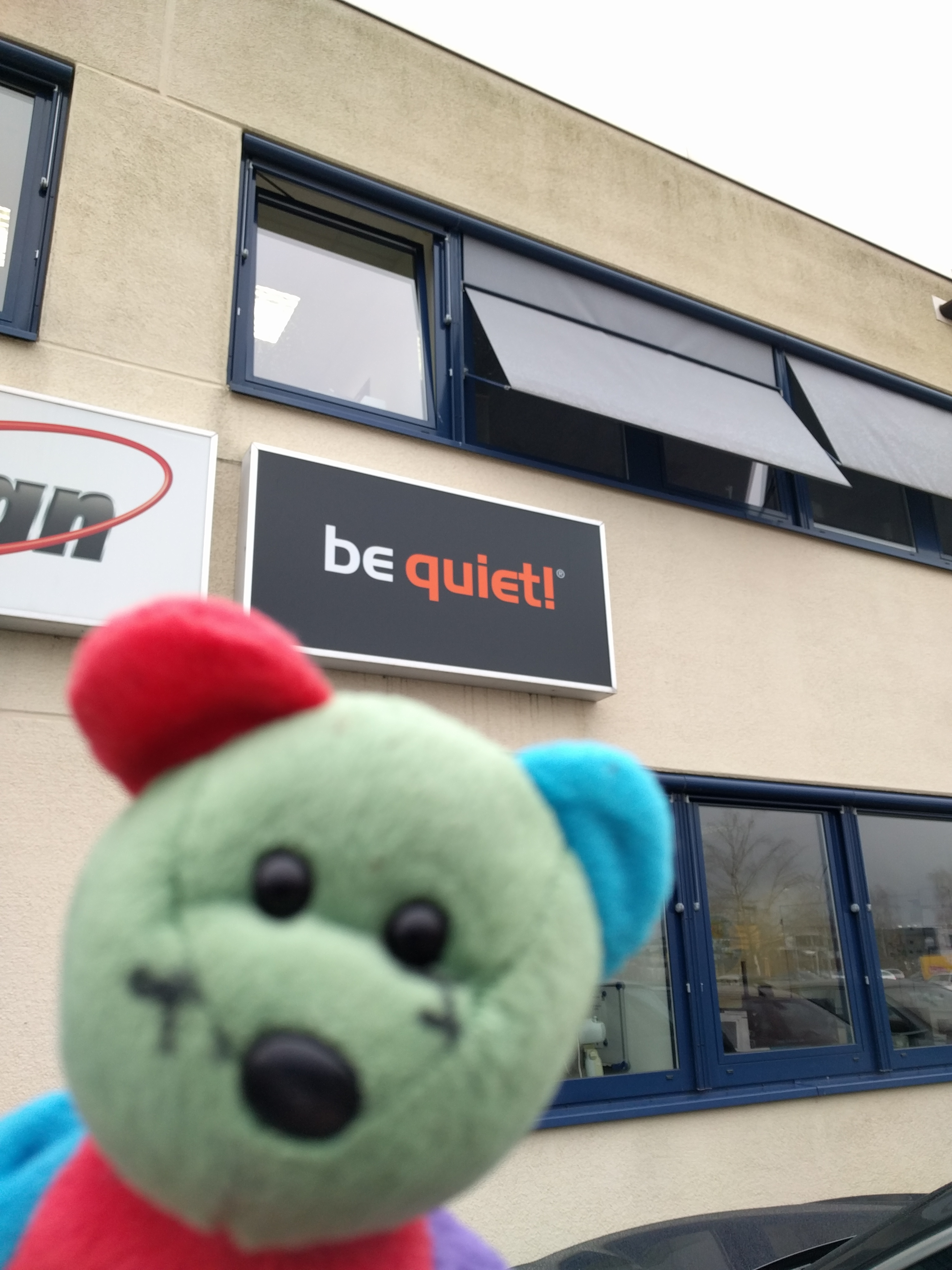 My Geeky Trip to Germany – Day 4 – be quiet! .